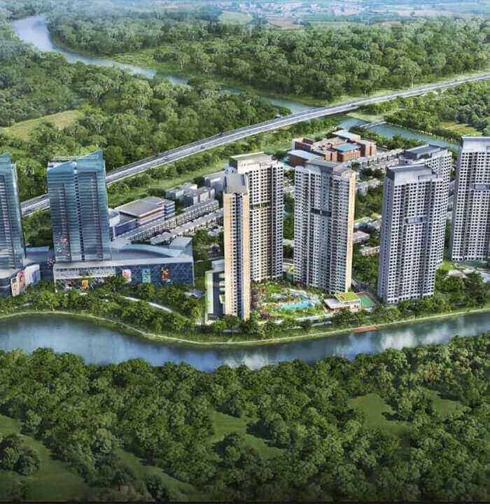 Dự án Palm City Quận 2 thuộc sỡ hữu chủ đầu tư Tiến Phước Senturia Nam Sài Gòn