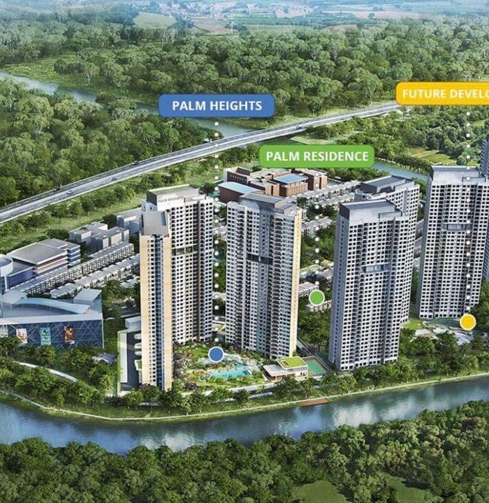 Palm City by Tiến Phước Group dự án Senturia Nam Sài Gòn Bình Chánh